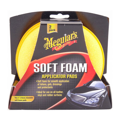 Meguiars X3070 Soft Foam Applicator Pads 2-pack
