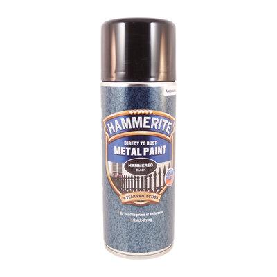 Hammerite Hammarlack  Svart Spray 400ml