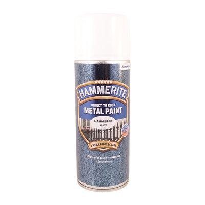 Hammerite Hammarlack  Vit Spray 400ml