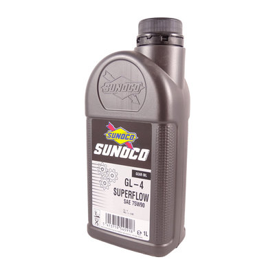 Sunoco GL-4 Semisynthetic Superflow 75W90