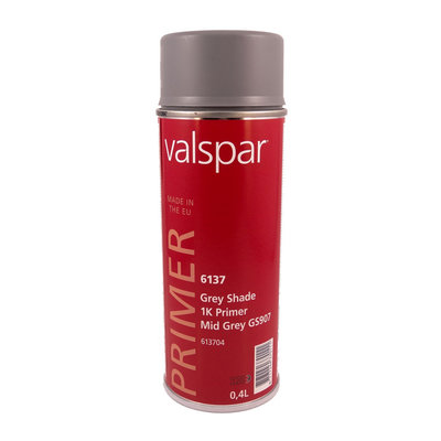 DeBeer Valspar Spot Repair Primer Grey 400ml