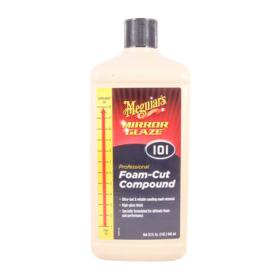Meguiars M101 Foam-Cut Compound 1L