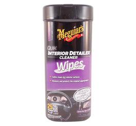 Meguiars G13600 Quik Interior Detailer Wipes 25 st.