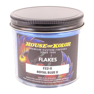 House of Kolor Royal Blue II Flakes 169,8 gr