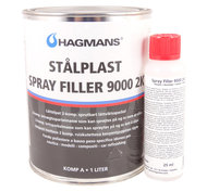 Hagmans Stålplast Spray Filler 9000 2K