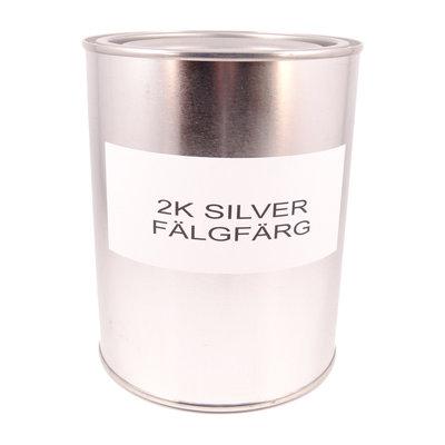 DeBeer Valspar Berocryl 2K Silver 1L