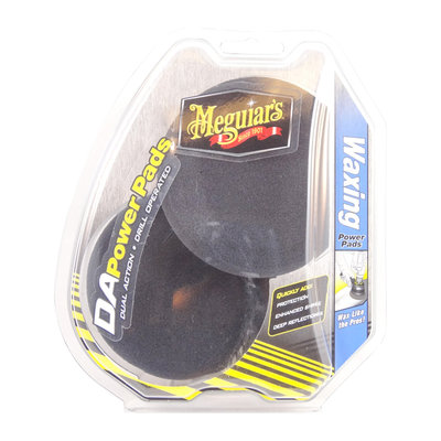 "Meguiars G3509 DA Power Pad Waxing 4"" 100mm 2-pack"