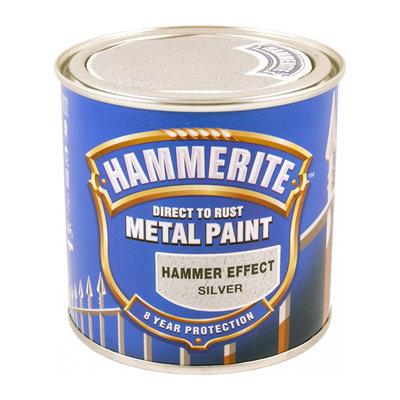 Hammerite Hammarlack, Silver 250ML