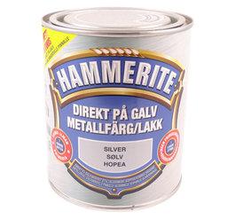 Hammerite Hammarlack, Silver 750ml