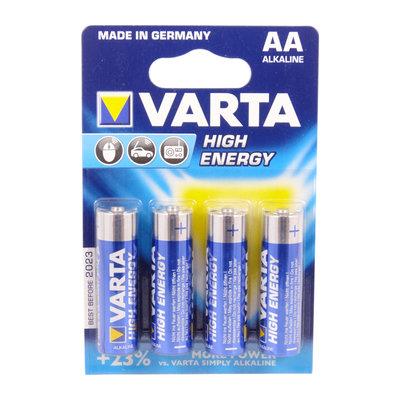 Varta Batteri LR06AA High Energy 4st