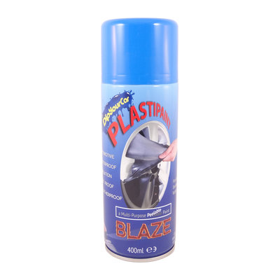 Plasti Paint Blaze Blå  400ml