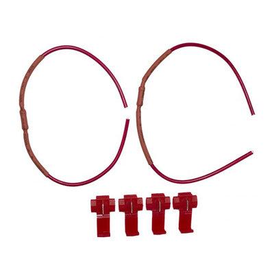 Resistorkabel 12V 5 watt, ett par LED
