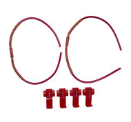 Ledson Resistorkabel 12V 5 watt, ett par LED