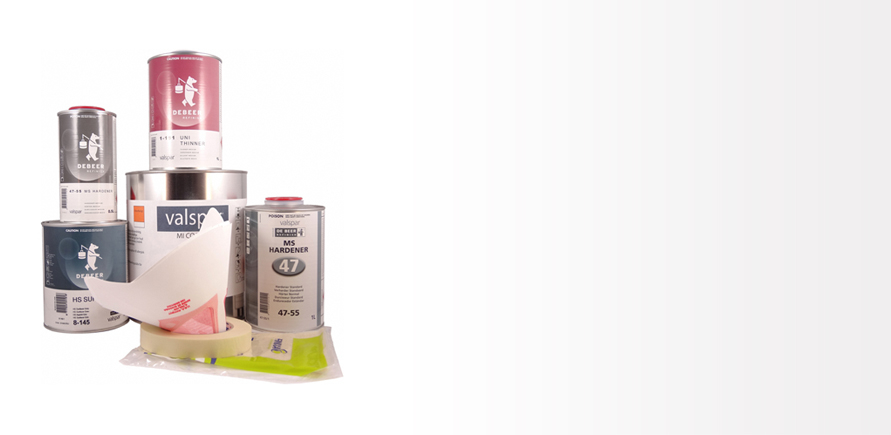 Lackpaket 2K Solid/Akryl Mellan (MI)